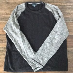 Two-toned cashmere sweater!